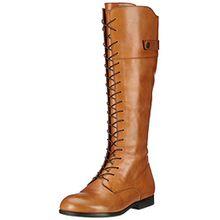 BIRKENSTOCK Shoes Damen Longford Stiefel, Braun (Camel), 38 EU