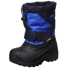 Kamik Unisex-Kinder Snowtraxg Schneestiefel, Blau (Blue/Navy-Bleu/Marine), 28/29 EU