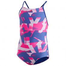 adidas - Kid's All-Over-Print Suit - Bikini Gr 116;128;140;152;164 rosa/blau/lila