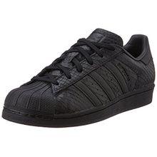 Adidas Superstar Damen Sneaker Schwarz, Schwarz, 40 2/3 EU