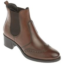 Varese Chelsea-Boots marone