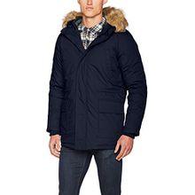 ONLY & SONS Herren Mantel Onssigurd Parka Jacket, Blau (Dark Navy), Small