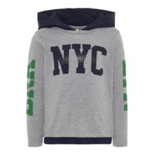 NAME IT Shirt navy / graumeliert / dunkelgrün