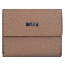 Bree Nola New 104 Geldbörse RFID Leder 12 cm braun Damen