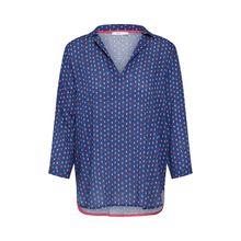 EDC BY ESPRIT Bluse 3/4-Arm-Blusen blau Damen