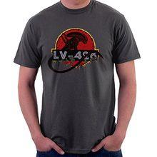 Acheron LV 426 Xenomorph Alien Jurassic Park Men's T-Shirt