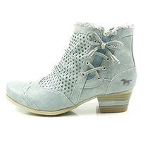 Mustang Shoes Damen Schuhe Stiefeletten 1187-520-875 Sky 39
