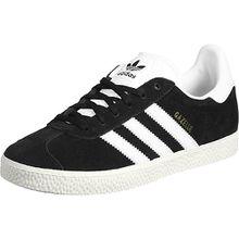 adidas Schuhe Gazelle J W Sneakers Low schwarz/gold Mädchen Kinder