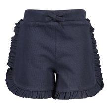 BLUE SEVEN Baby Sweatshorts für Mädchen blau / nachtblau