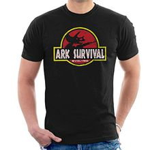 Ark Survival Evolved Jurassic Park Men's T-Shirt
