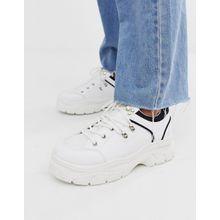 Park Lane - Wander-Sneaker mit dicker Sohle - Weiß