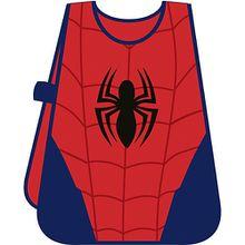 Malschürze Spiderman blau/rot