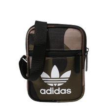 ADIDAS ORIGINALS Unisex - Taschen 'FEST BAG CAMO' braun / hellgrün / weiß