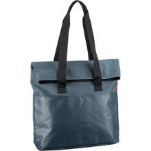 reisenthel Handtasche foldbag canvas Blue (23 Liter)
