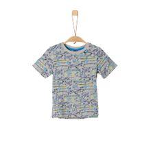 S.Oliver Junior Shirt grau / mischfarben