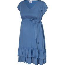 MLSABRIN CAP WOVEN SHORT DRESS - Umstandskleider - weiblich blau Damen Kinder