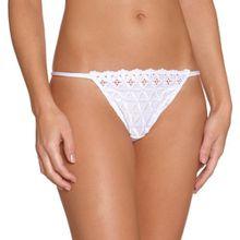 Aubade Damen String STRING - Weiß - Blanc - 42 (Herstellergröße: 4)