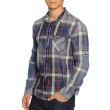 LTB Hemd Slim Fit in blau für Herren