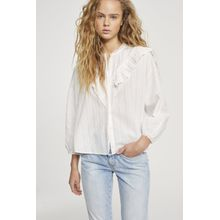 CLOSED Feminine Bluse white