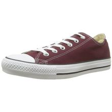 Converse Chuck Taylor All Star Season Ox, Unisex Sneaker, Rot (Bordeaux/Blc), 39 EU