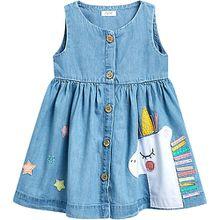 Kleid  denim Mädchen Baby