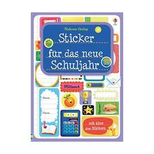 Buch - Sticker das neue Schuljahr  Kinder