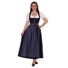 Stoiber Damen Dirndl lang 113244 /9 OHNE Schürze