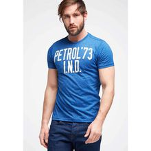 Petrol Industries T-Shirt blau Herren