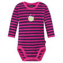 Schiesser Baby - Jungen Body 154165-504, Rot (pink 504), 74 (Herstellergröße: 074)