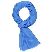 Gerry Weber Schal Schal mit feiner Transparenz blau Damen