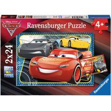 Ravensburger 2 X 24 Teile Abenteuer mit Lightning McQueen
