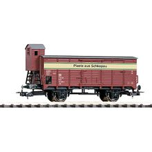 """H0 Gedeckter Güterwagen G02 """"Plaste aus Schkopau"""" DR IV"""