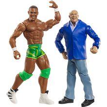 WWE Basis Figuren (15 cm) 2er-Pack Kurt Angle & Jason Jordan