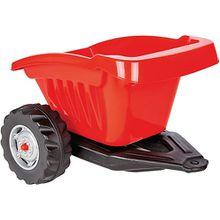 Ride-on Anhänger Traktor Strong Bull rot  Kinder