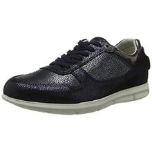 BIRKENSTOCK Shoes Damen Cincinnati Derby, Blau (Navy Metallic), 38 EU