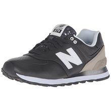 New Balance Damen Sneaker, Schwarz/Grau, 38 EU (5.5 UK)