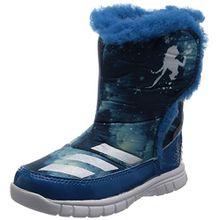 adidas Unisex Baby Disney Frozen Mid I Sneaker, Azul (Azuuni/Ftwbla/Azuhie), 23 EU
