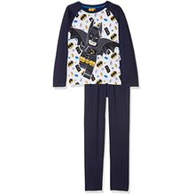 Lego BATMAN Jungen Zweiteiliger Schlafanzug 161994, Bleu (Bleu), 6 Jahre