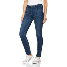 Lee Damen Slim Jeans Elly, Blau (Crosby Blue Hald), W26/L31