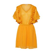Scotch & Soda Kleid Sommerkleider gelb Damen