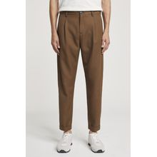 CLOSED Boston Relaxed Woll Mix Hose breen