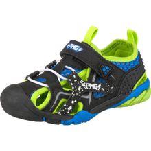 PRIMIGI Sandalen blau / neongrün / schwarz
