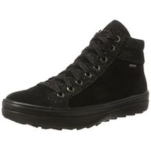 Legero Damen Mira Hohe Sneaker, Schwarz (Schwarz), 41.5 EU (7.5 UK)