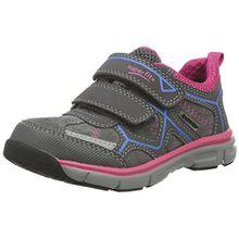 Superfit Lumis 700411, Mädchen Sneakers, Grau (Stone Kombi 06), 33 EU