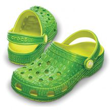 Crocs - Crocskin Classic Kids - Sandalen Gr 21 / 22 schwarz/grau