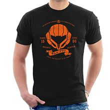 Orange Armor Metroid Men's T-Shirt