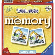 Mein erstes memory®, 24 Karten (12 Paare), Fahrzeuge