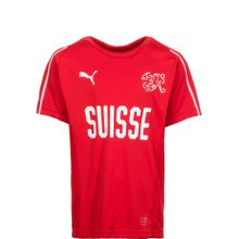 PUMA 'Schweiz Trainingsshirt WM 2018' Kinder rot