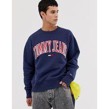 Tommy Jeans - Collegiate Capsule - Sweatshirt in Marineblau - Navy
