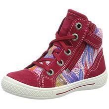 Superfit Tensy Mädchen Sneaker, Pink (Pink Kombi 64), 27 EU